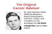 霍兰德职业兴趣测评